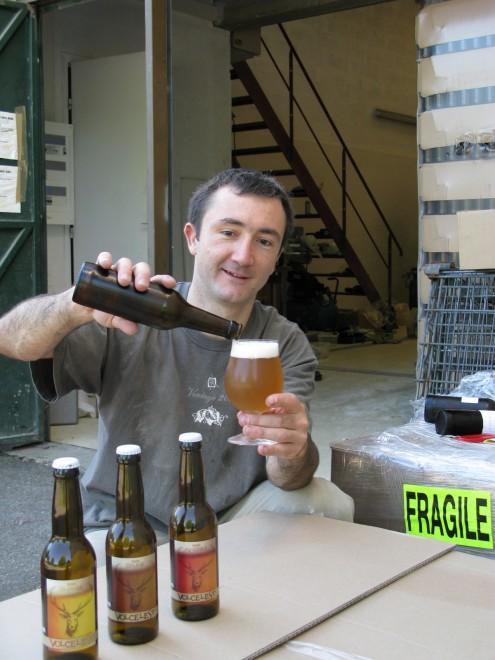Emmanuel Rey fondateur de la Brasserie de la Vallée de Chevreuse