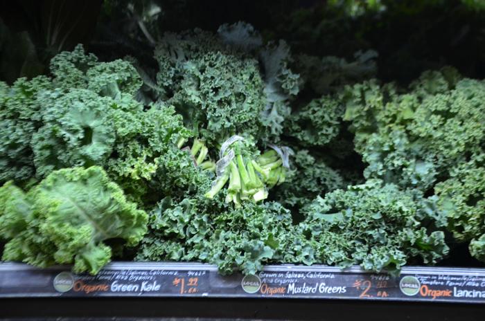 Le kale sous sa forme la plus classique. Mais il en existe également une quarantaine d'autres variétés.