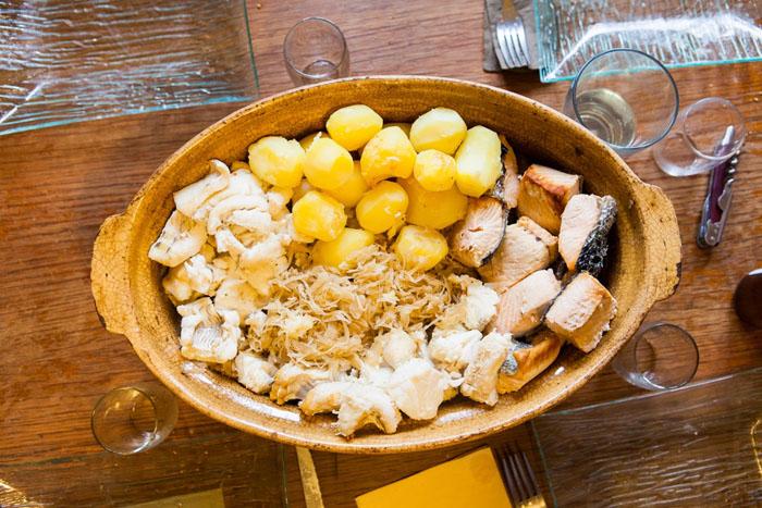Version choucroute de la mer.