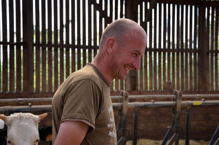 """Devenir éleveur laitier : """"un rêve de gosse qui ne m'a jamais quitté."""""""