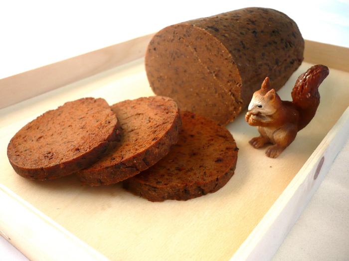 On peut y mettre plein d'épices, c'est pour ça que c'est bon le seitan.