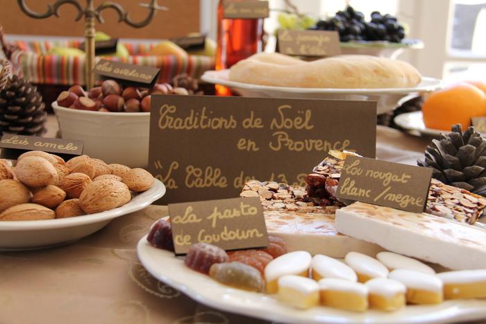 Les 13 desserts, l'apothéose du gros souper.