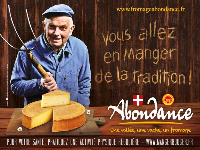 L'abondance, le plus noble des fromages savoyards.