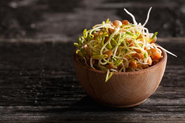 Faites-vous plaisir en cuisine, décoration 100% aérienne sur une simple salade ou sur du pain grillé et quelques tranches de couleurs (tomates séchées, jambon fumé)....Succès garanti !