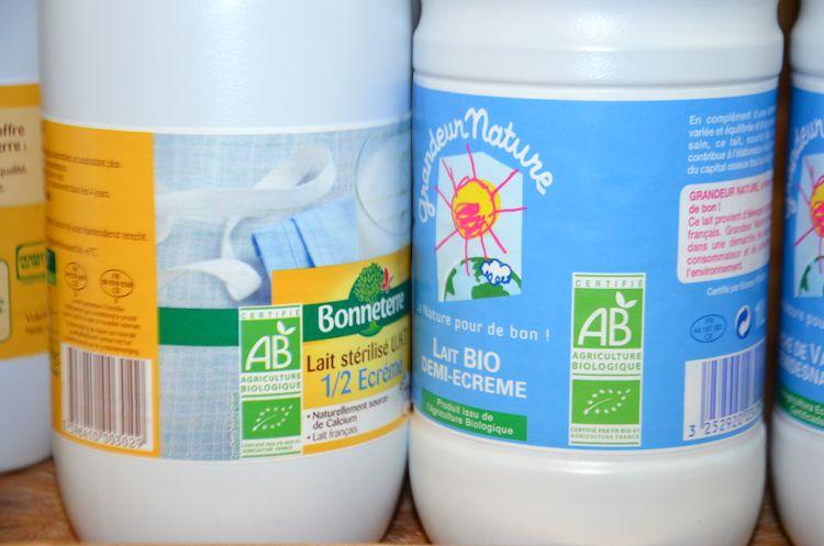 Depuis 2009, label AB et européen : mêmes exigences.