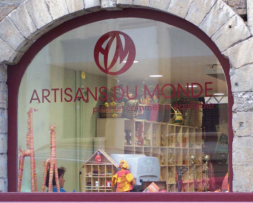 La boutique ADM du Vieux Lyon.