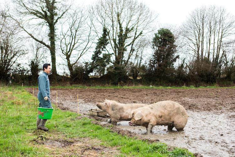 """""""Une seule agriculture : celle des hommes"""", la maxime des Jeunes agriculteurs. @Thomas Louapre"""