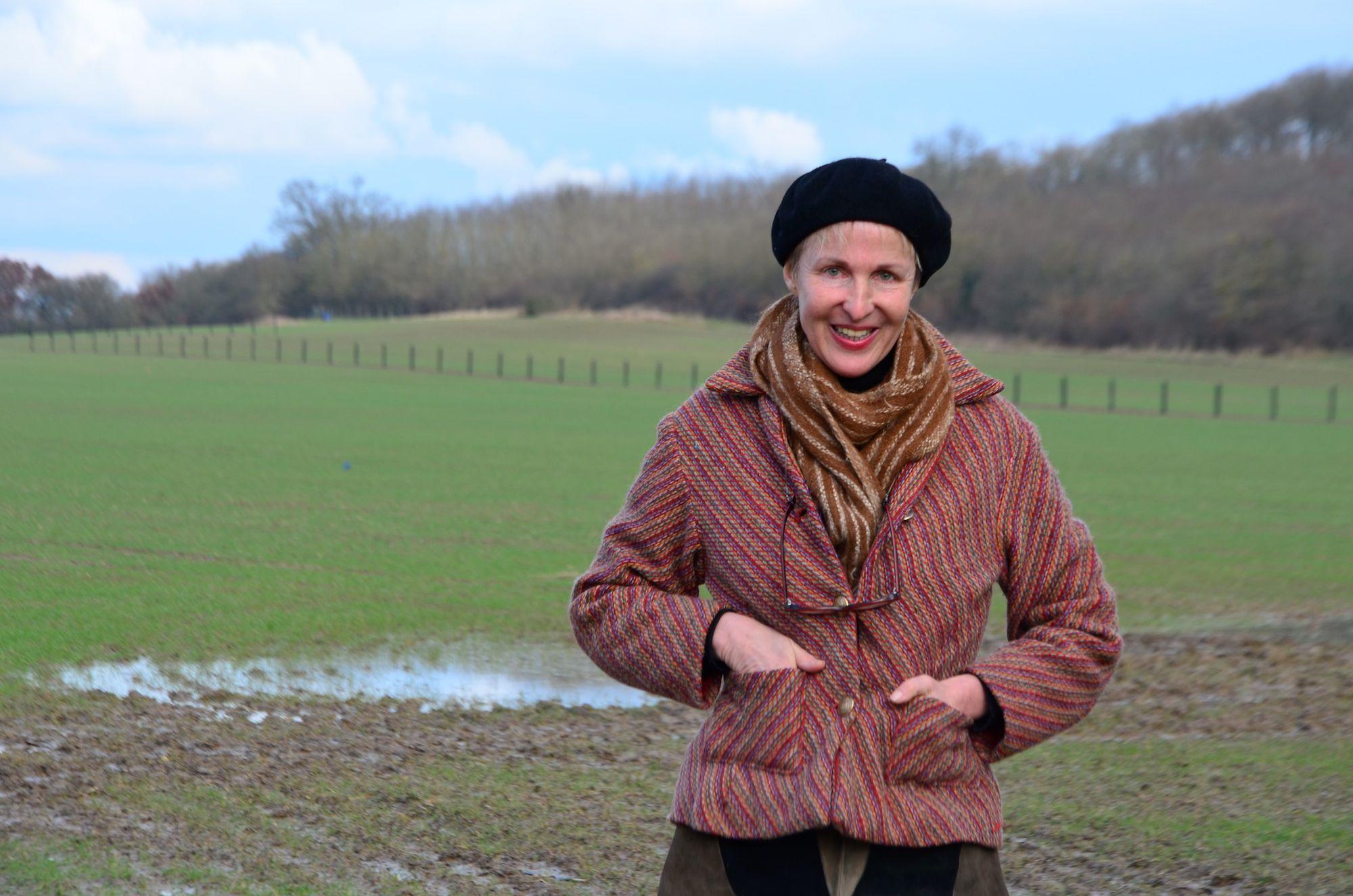 Une femme écrivaine dans un monde d'agriculteurs...