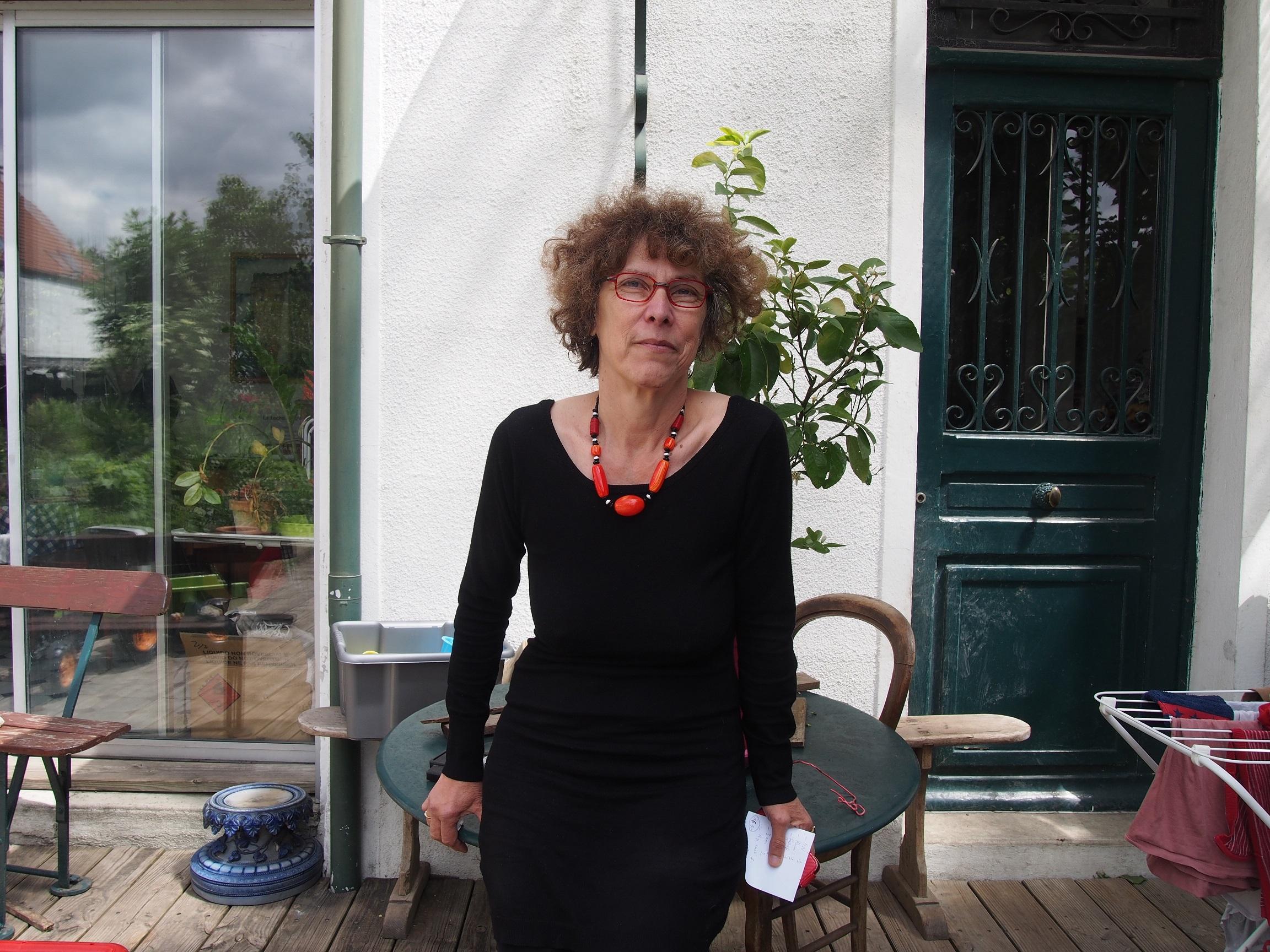 Claude Didierjean, militante pour l'allaitement maternel.