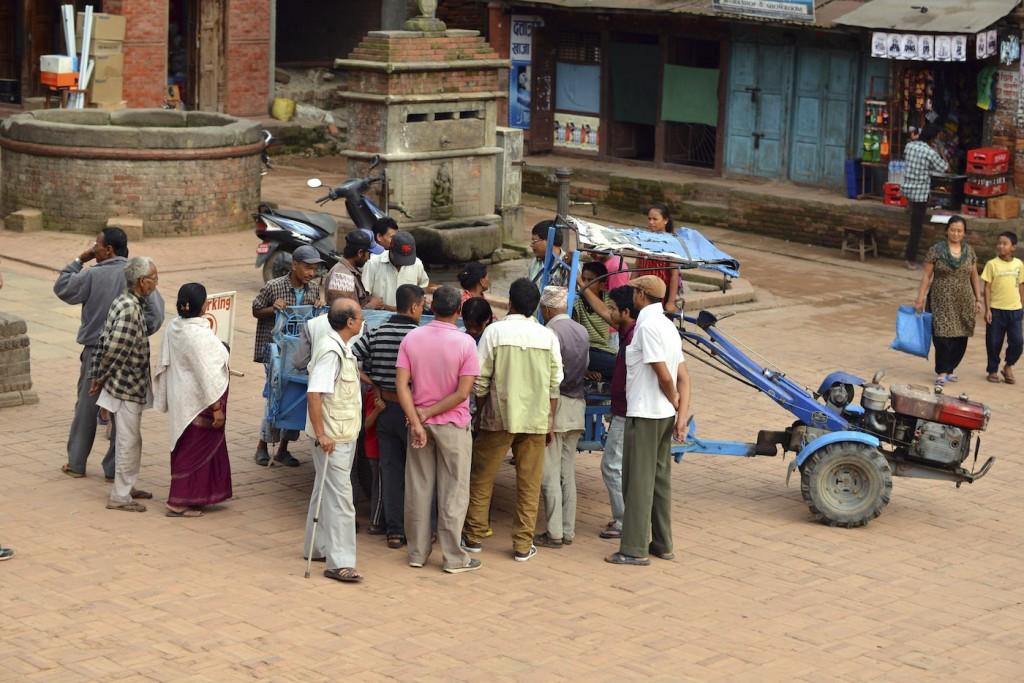Sacrifice rituel au Népal