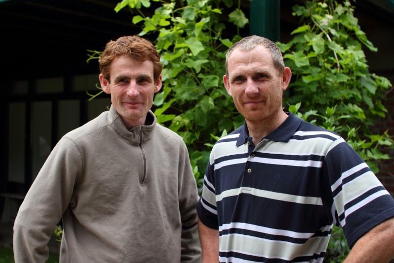 Gonzague et Jean-Roch, les deux fistons.