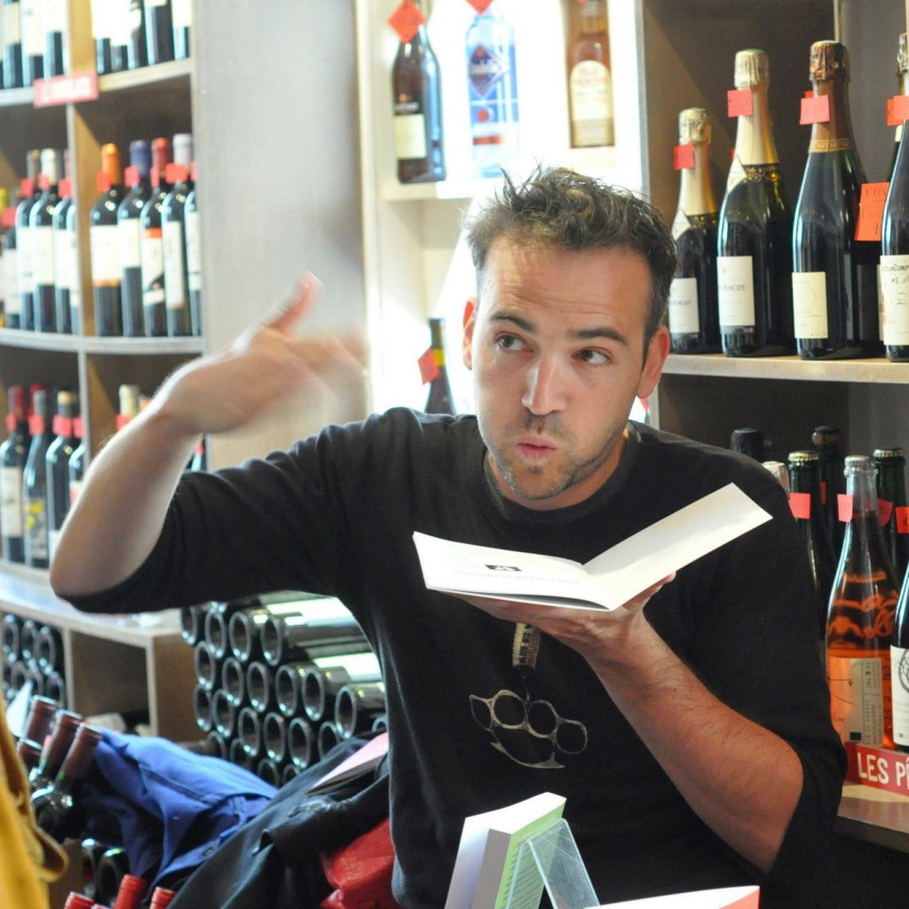 "Antonin, le bloggueur de ""No wine is innocent"""