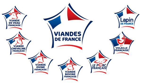 Logos viandes de France
