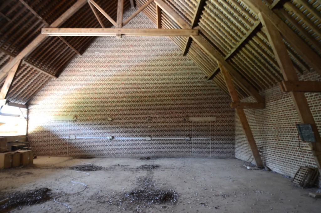 C'est ici, sur 250 m2 que Nicolas imagine sa conserverie partagée.