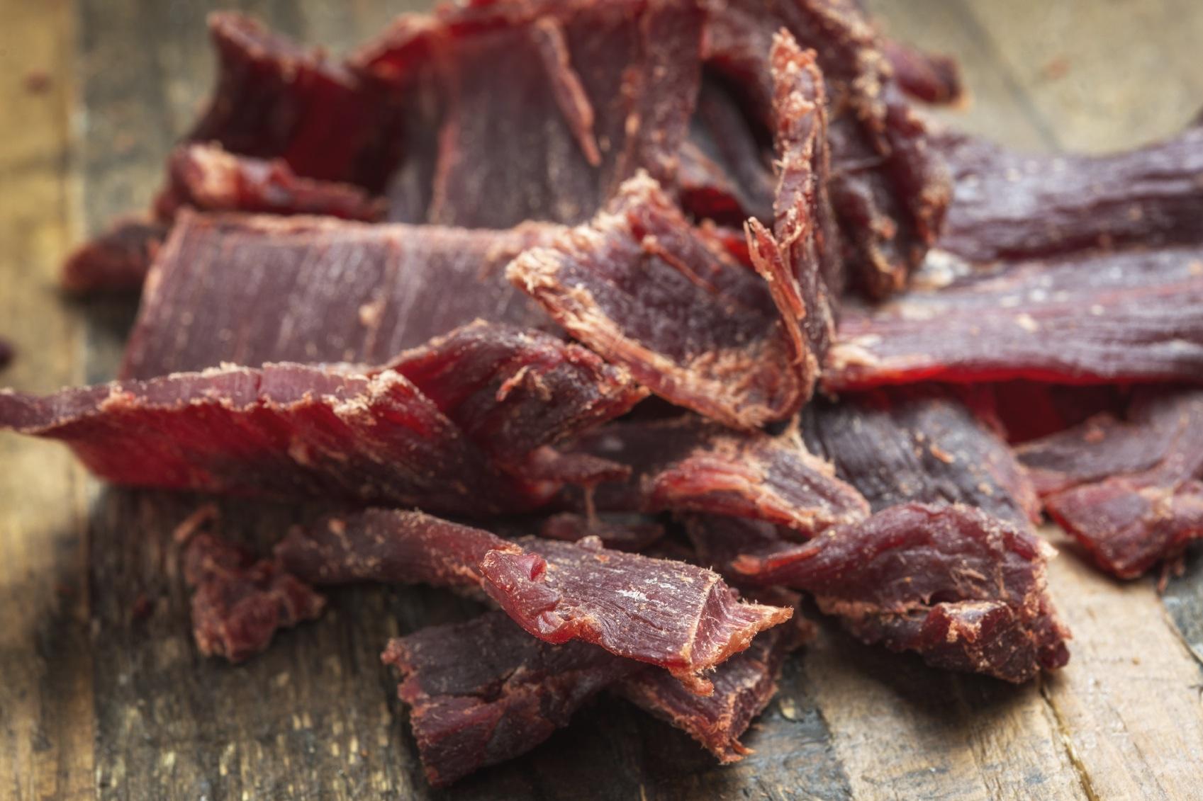 Как сделать вяленое мясо фото