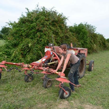 Agricultrice célibataire