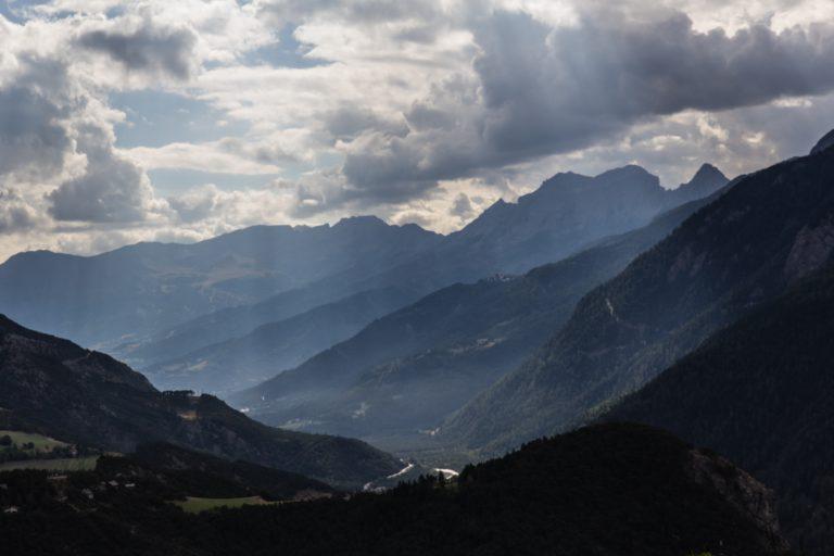 La vallée de l'Ubaye.