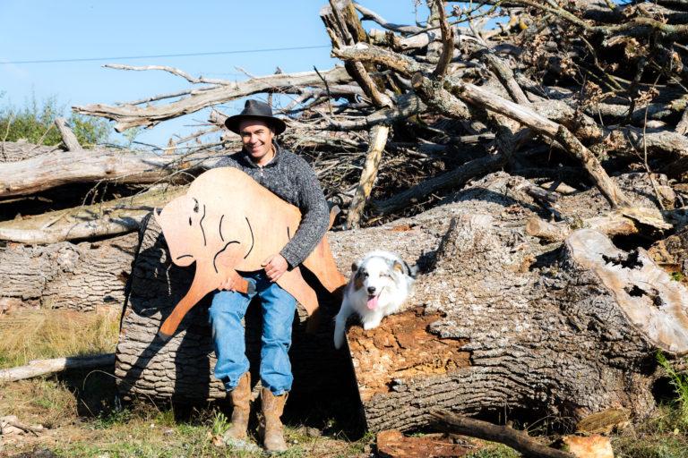 Pour retrouver Matthieu, sa ferme et ses produits : bisons-auvergne.fr. © Thomas Louapre