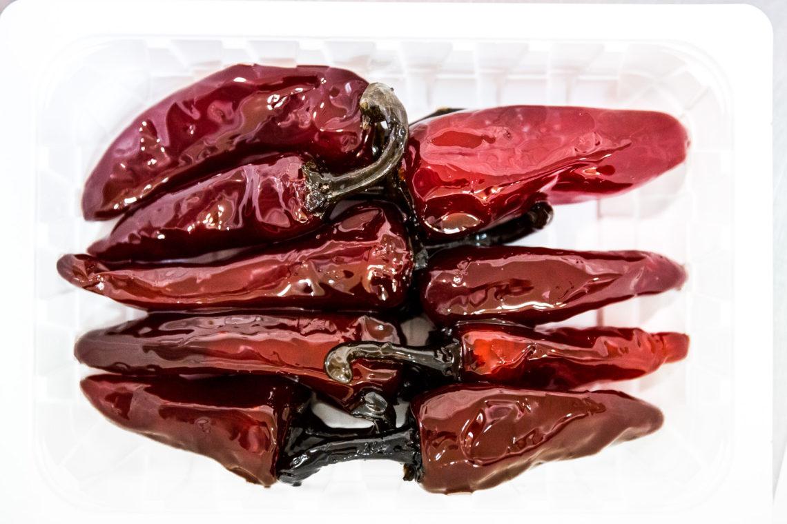 Le piment d'Espelette confit : un rubis de table qui magnifie les fromages frais. © Thomas Louapre.