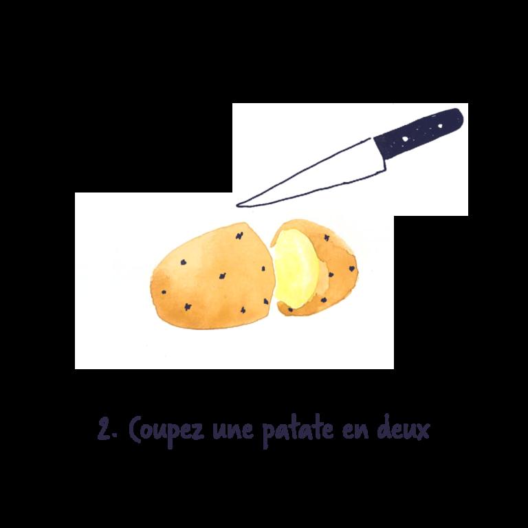 La patate pour soigner vos plaies