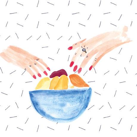 Chips d'épluchures