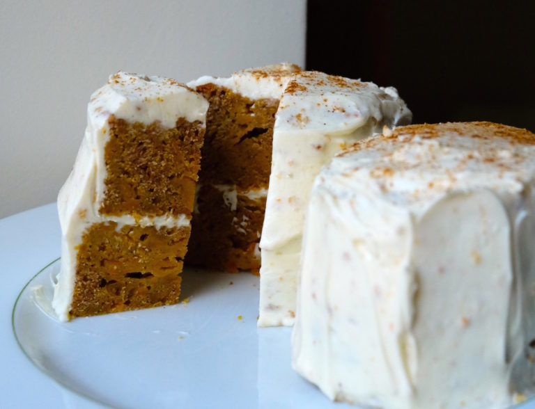 Gâteau à la courge