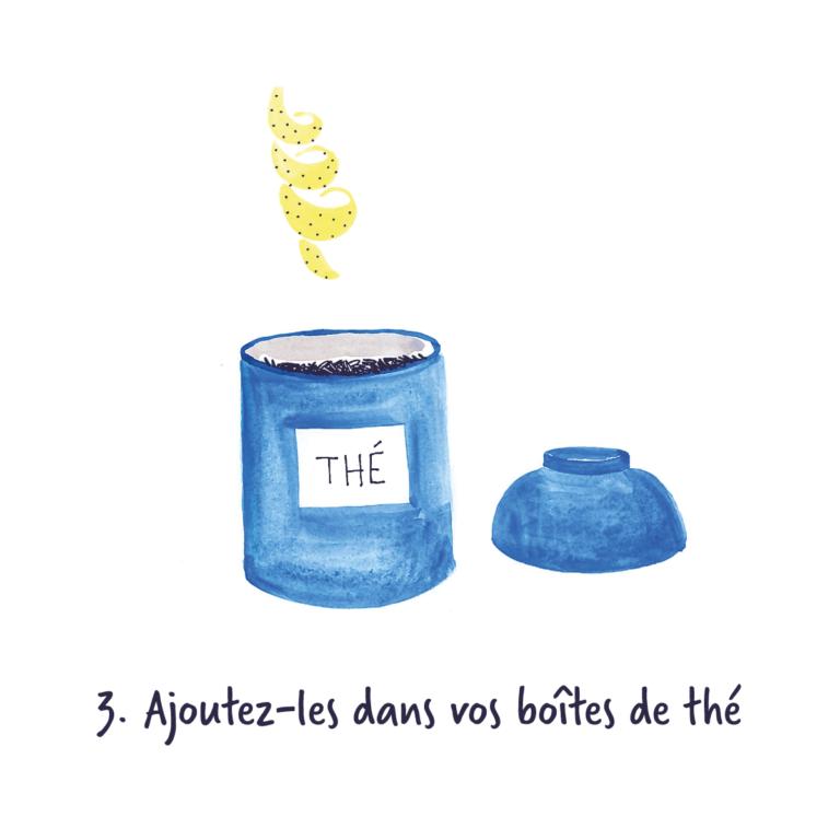 Thé citronné