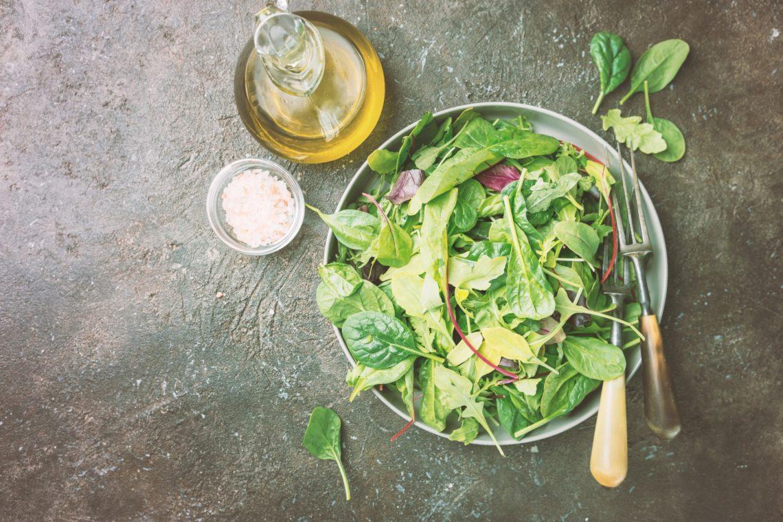 La salade du jardin de Camille
