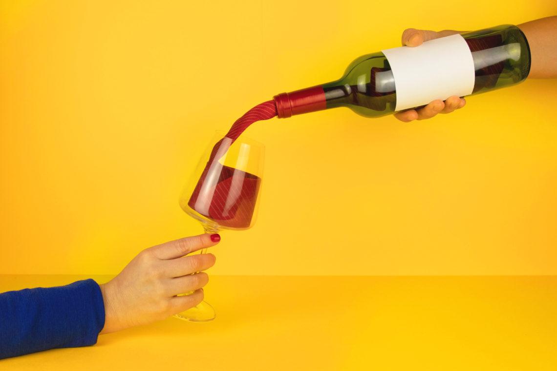Fibre à base de dépôt de vin